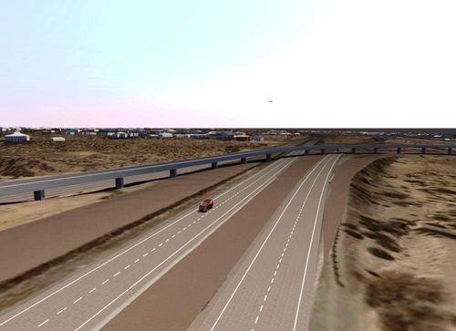 I 10 Roadway Rehabilitation Project NMDOT Autodesk Infrastructure Modeler